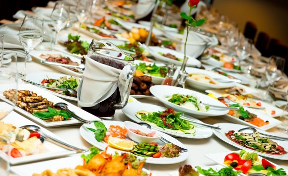 Portion control: Getting the right wedding food balance