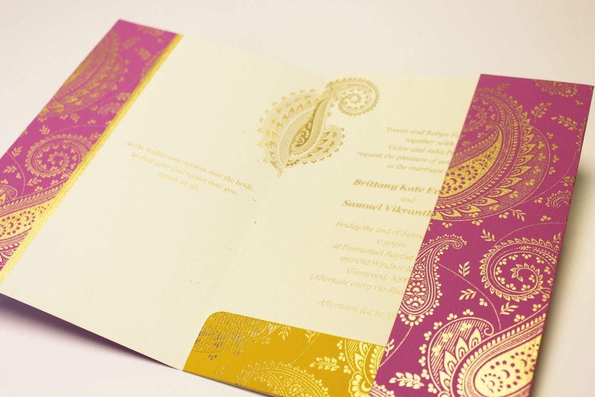 Indian Wedding Cards :: Bespoke Asian Wedding Invitations :: Cardeva