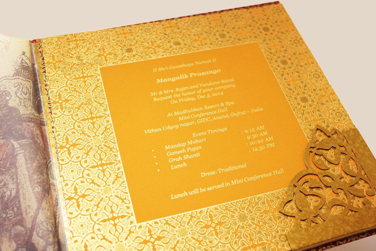 Indian Wedding Cards :: Bespoke Asian Wedding Invitations :: Cardeva