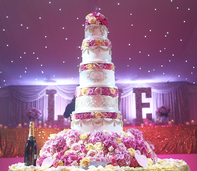 Londons Luxury Wedding Cake Supplier Asian Wedding Cakes Indian