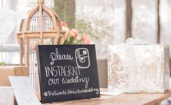 Create a Unique Hashtag for Your Wedding