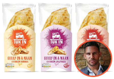 Gay Apprentice Star Launches 'Tuk In' Indian Food Business