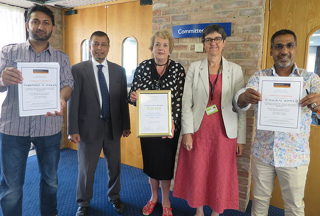 Indian food hygiene programme proves a hit in Wychavon