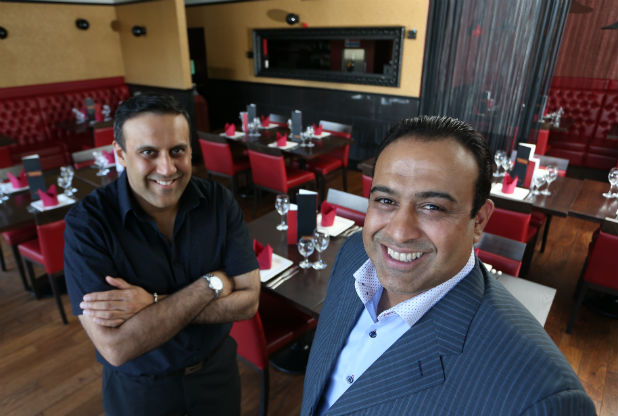 """Nottingham curry house ownersmakethe """"Kings of Curry"""" list"""
