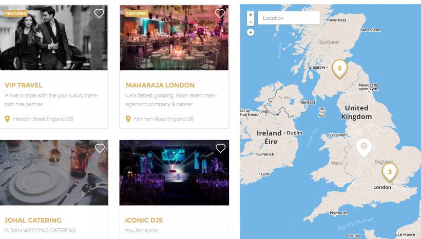 Maharaja launch directory for the wedding & event industry