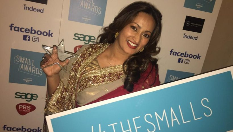 Bournemouth's Sarah Ali Choudhury has been awarded the UK's best start-up award for Easy Curry