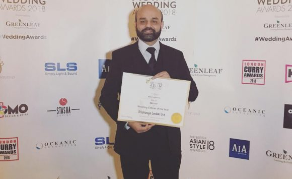 Maharaja London Scoops Prestigious 'Wedding Caterer of the Year' Award